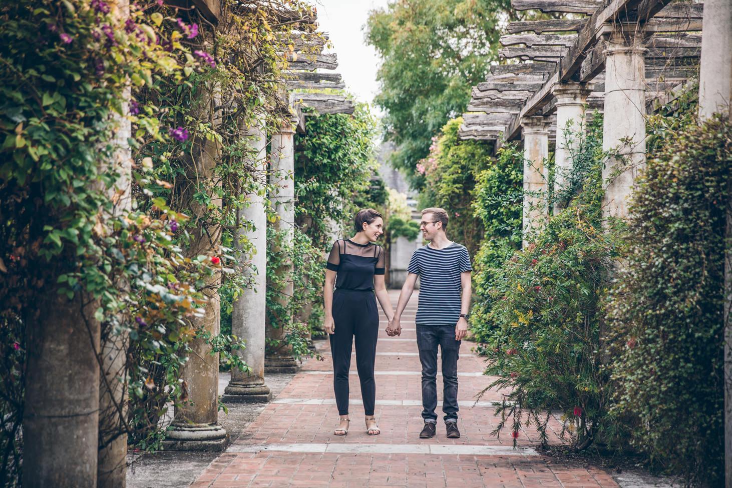 sarah ann wright hamsptead hill gardens engagement