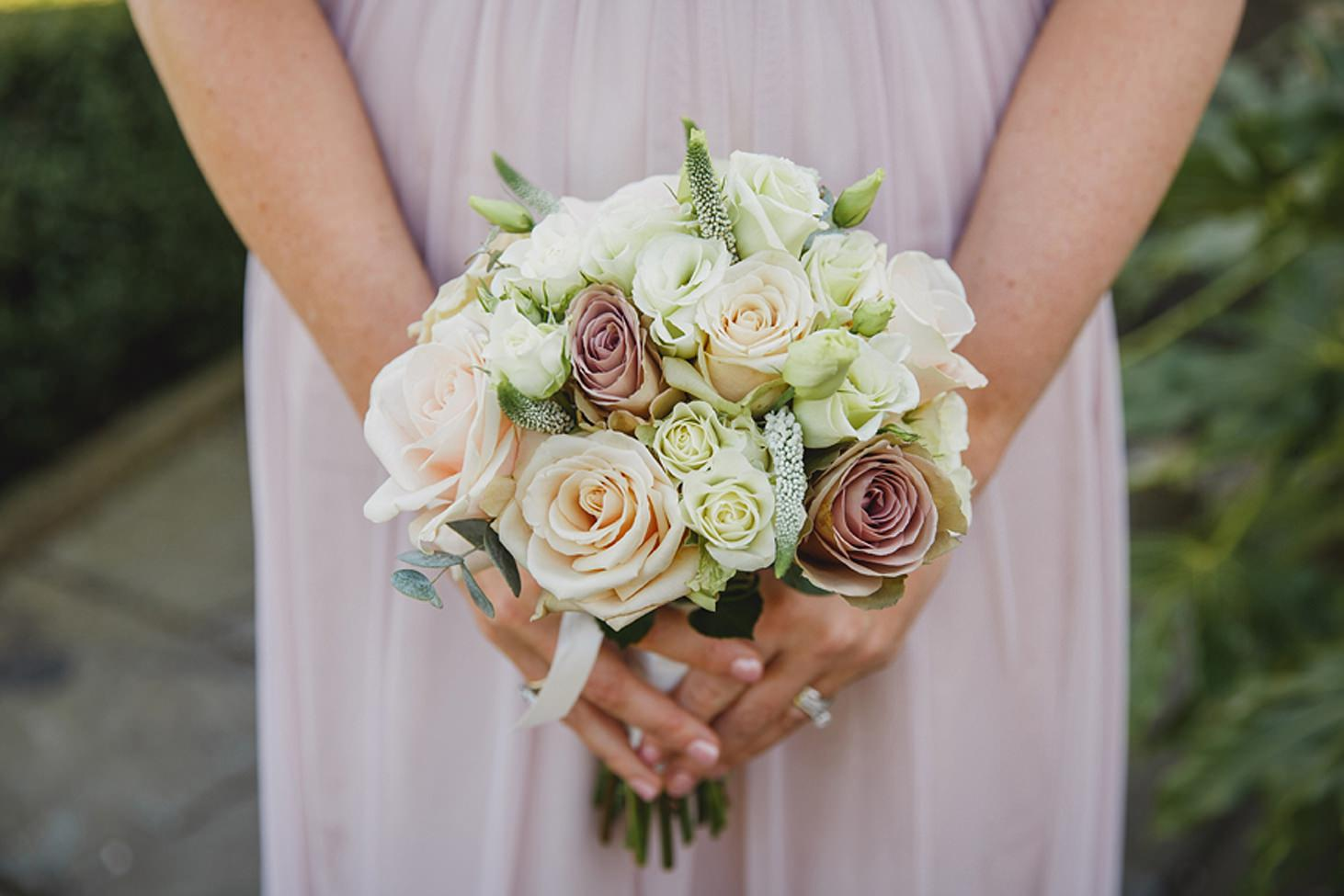 cotswolds wedding bridesmaid bouquet