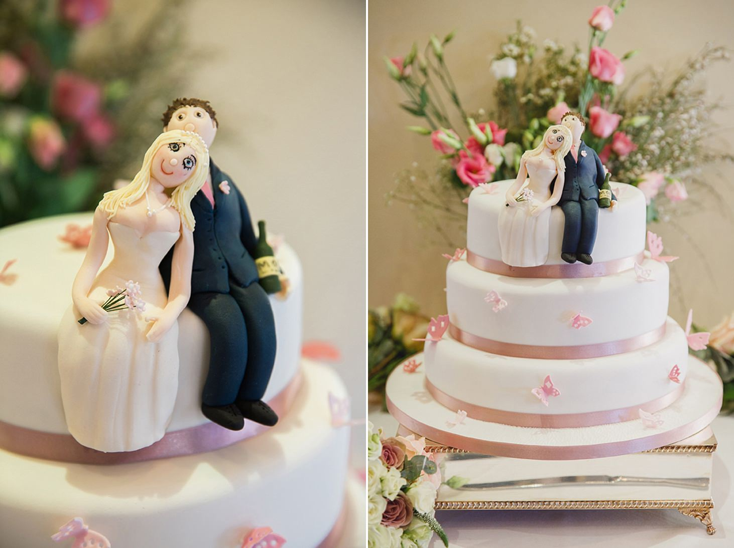 cotswolds wedding cake details