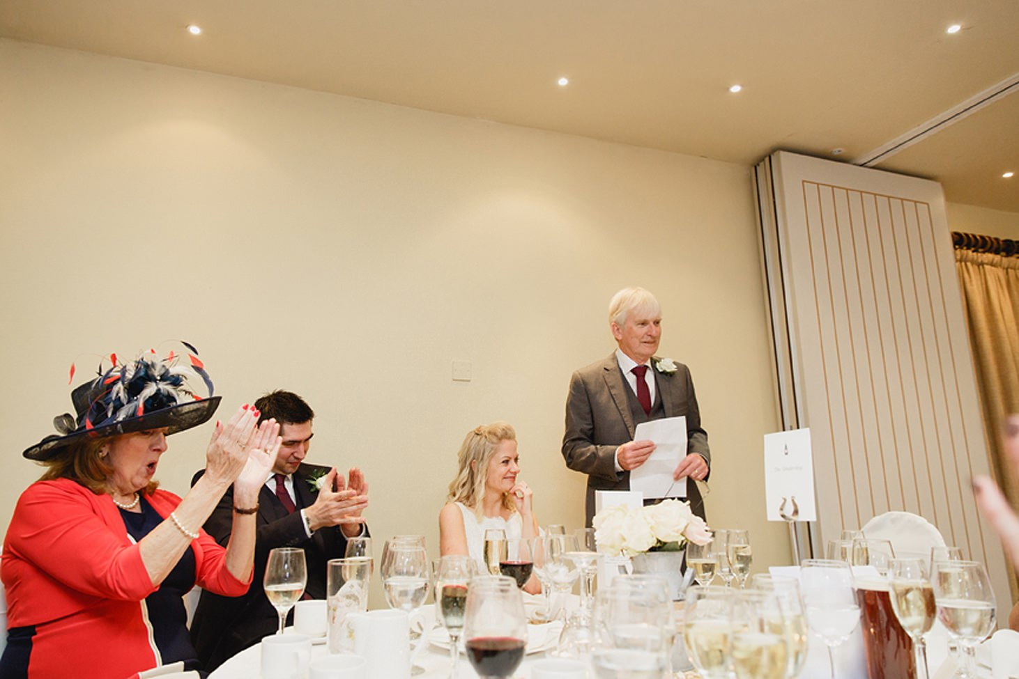 cotswolds wedding father of bride speech