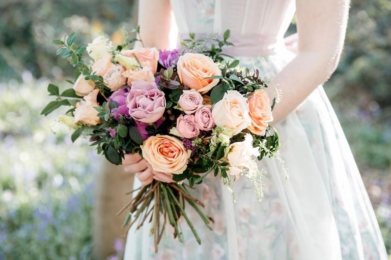 spring bride wedding flowers