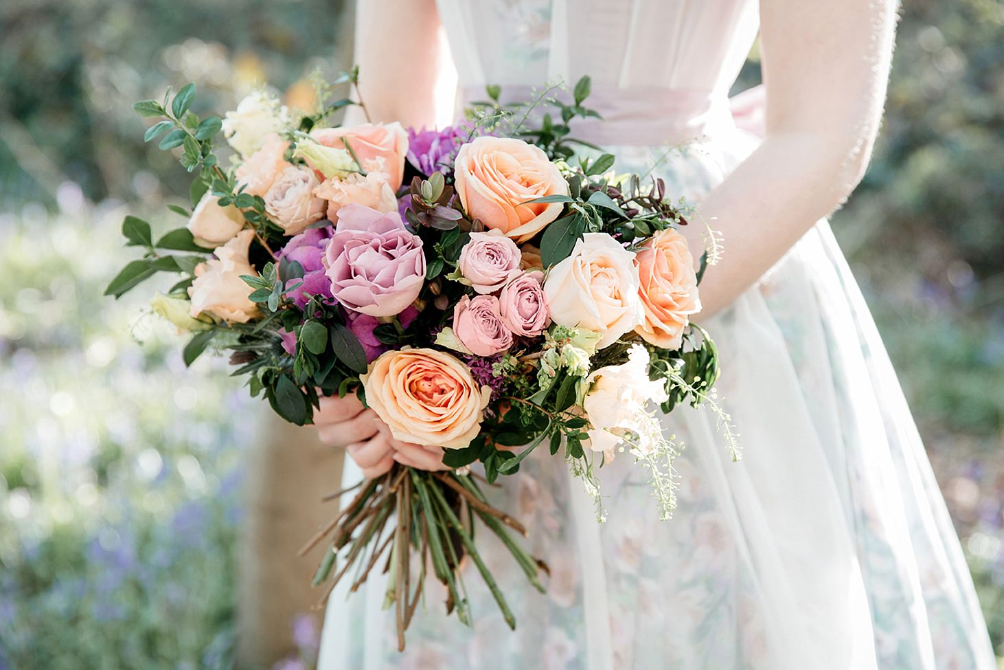 spring bride wedding flowers