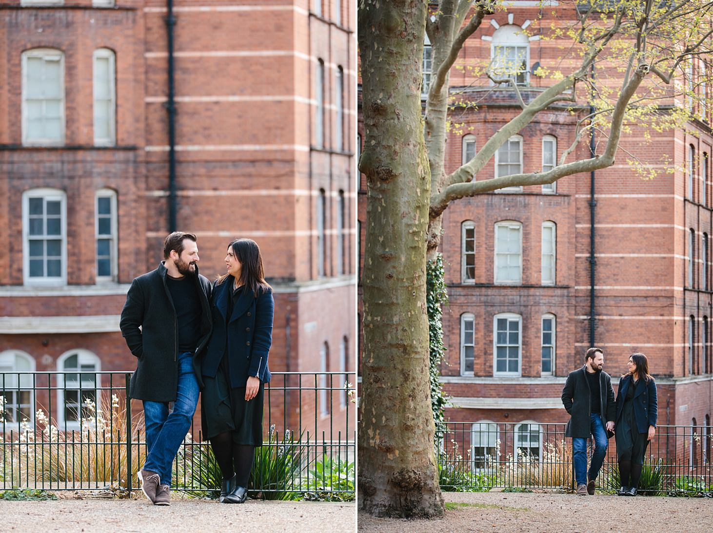 shoreditch engagement shoot at arnold circus