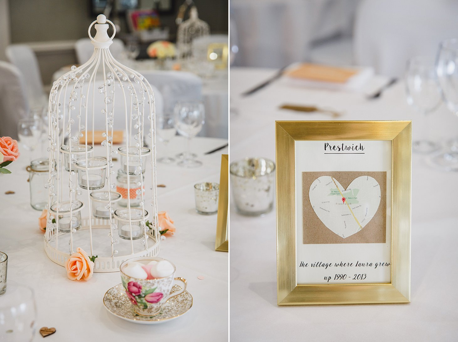 richmond hill wedding photography table details