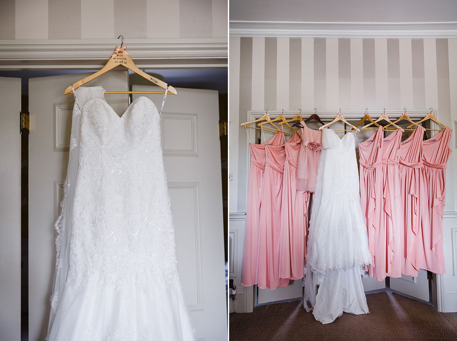 richmond hill wedding photography wedding dress