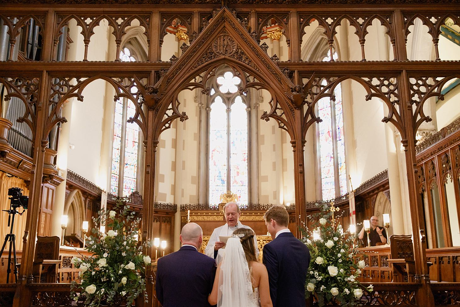 richmond hill wedding photography wedding ceremony
