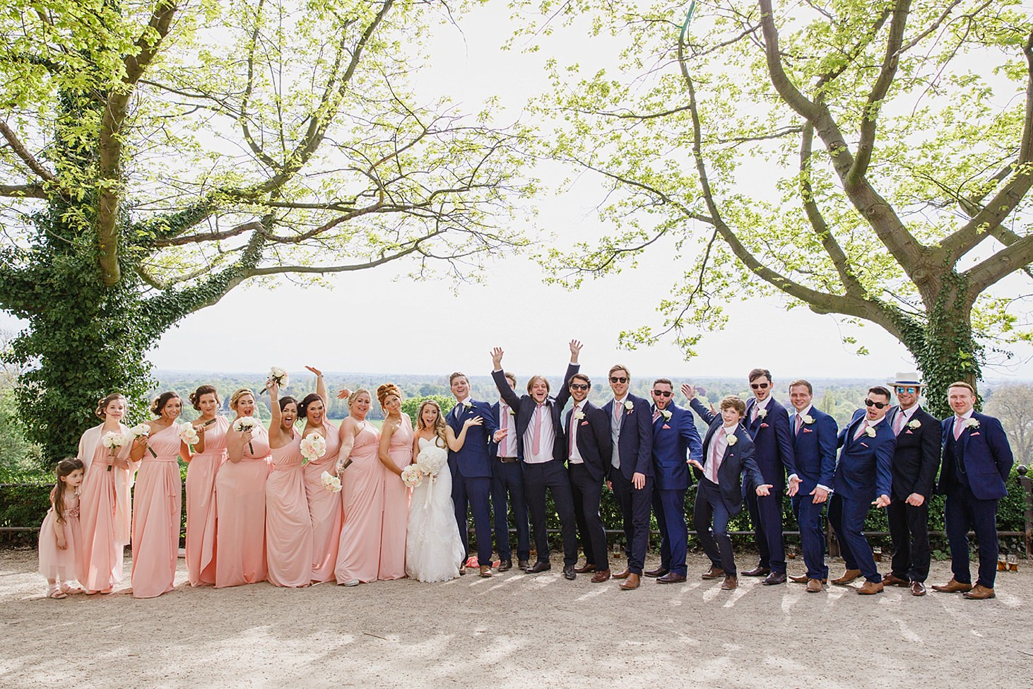 richmond hill wedding photography bridesmaids and groomsmen