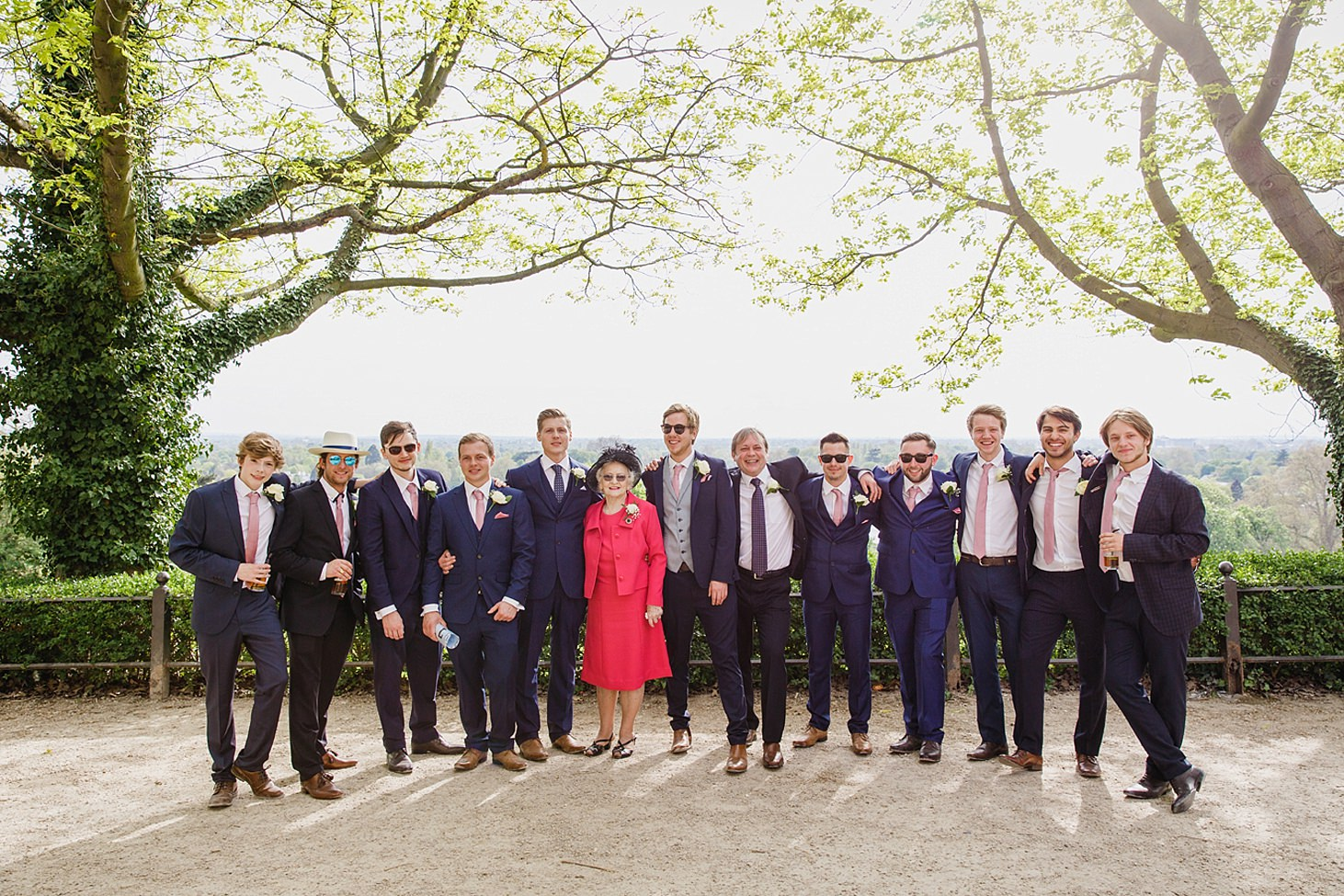 richmond hill wedding photography groomsmen