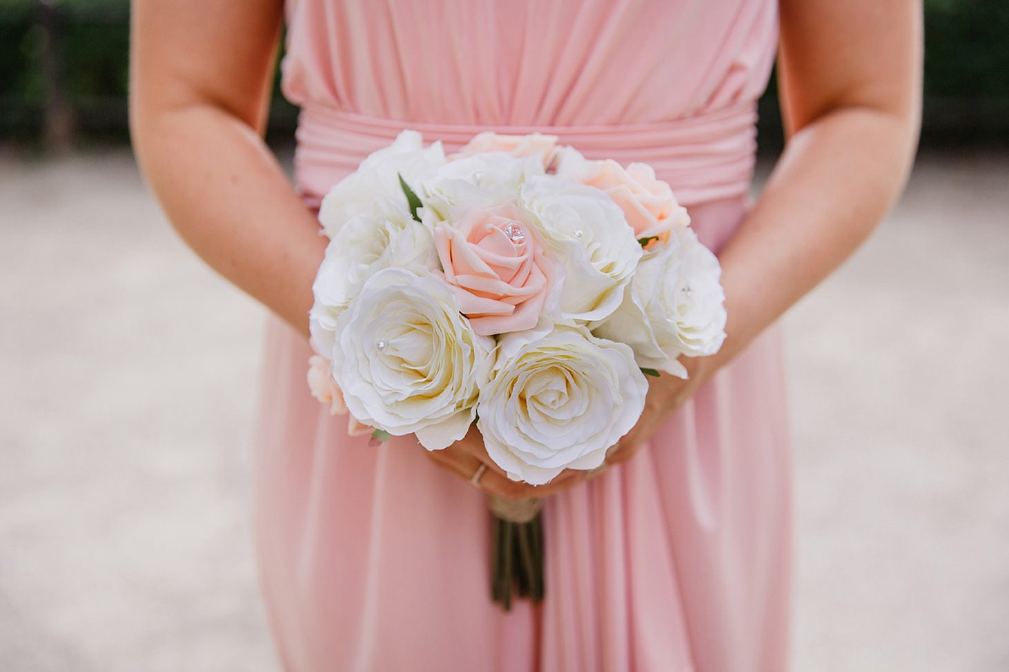 richmond hill wedding photography bridesmaids bouquet