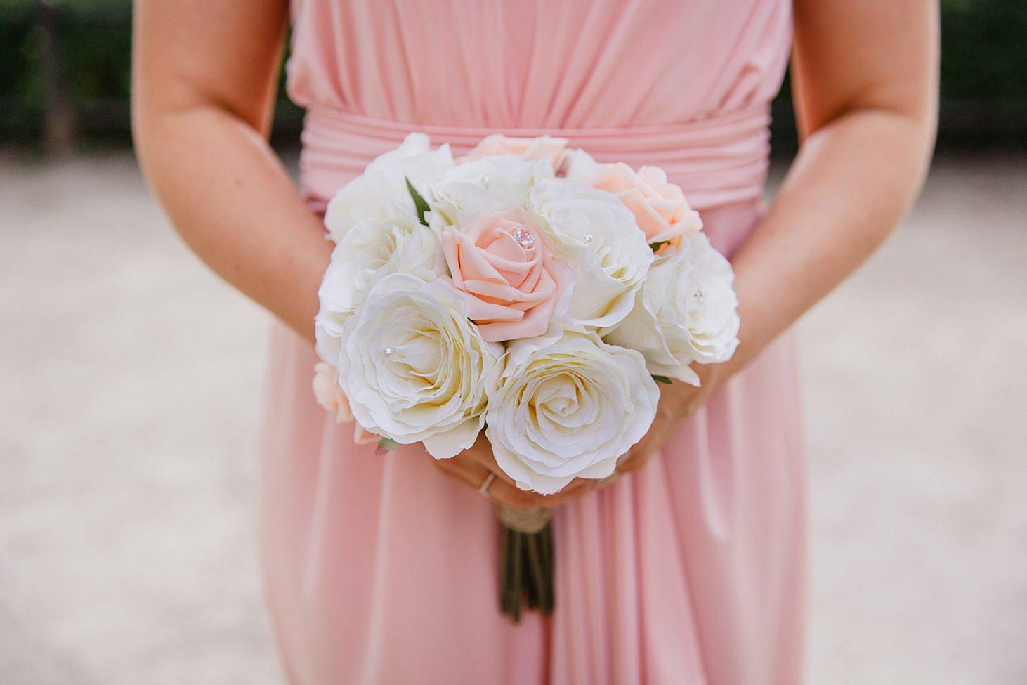 richmond hill wedding photography bridesmaids bouquet