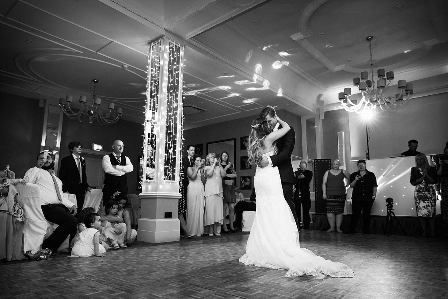 richmond hill wedding photography first dance