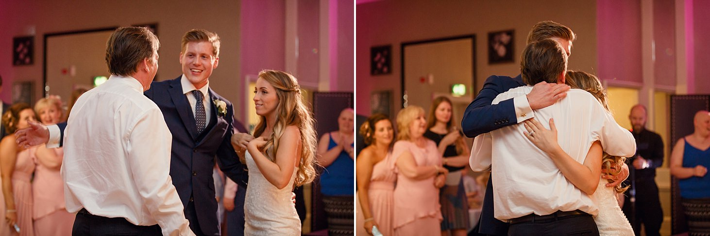 richmond hill wedding photography wedding party on dance floor