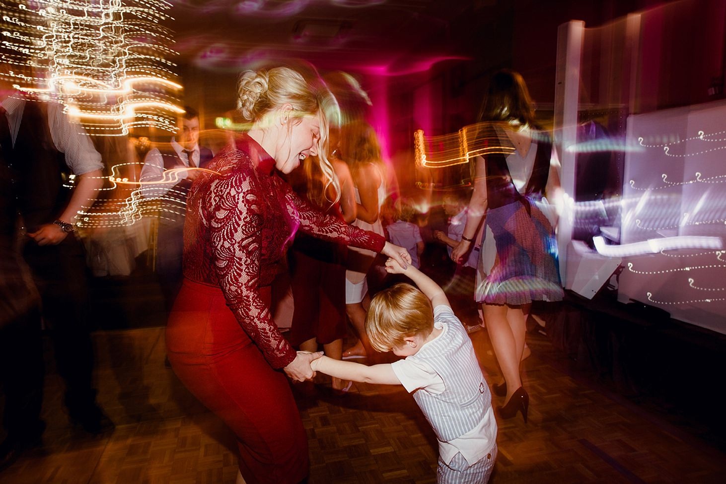 richmond hill wedding photography dancing portrait