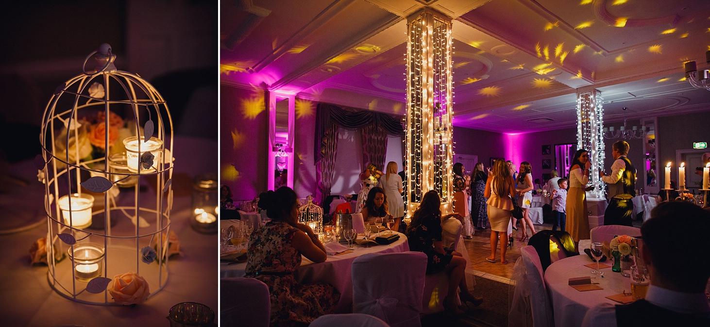 richmond hill wedding photography evening dance floor