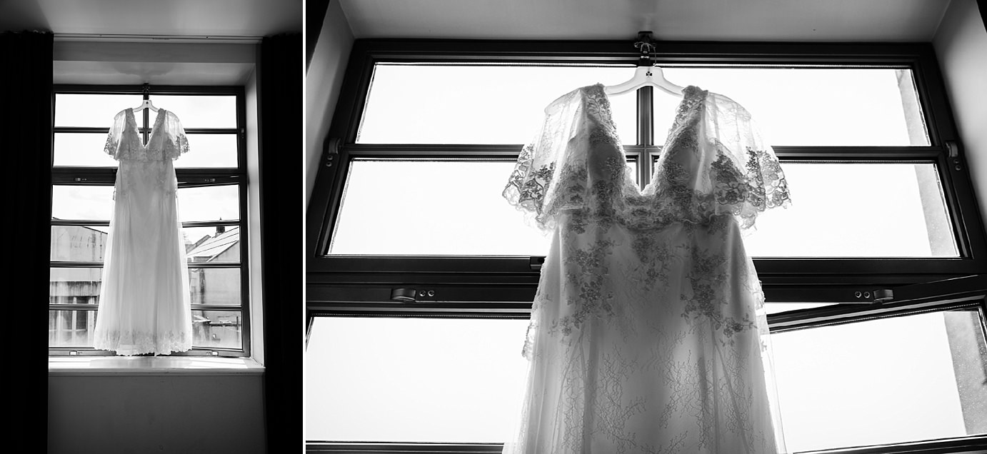 Londesborough pub wedding photography wedding photography bride's dress