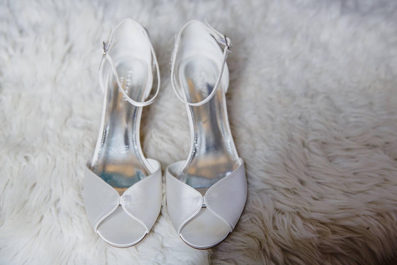 Londesborough pub wedding photography wedding photography bride's shoes