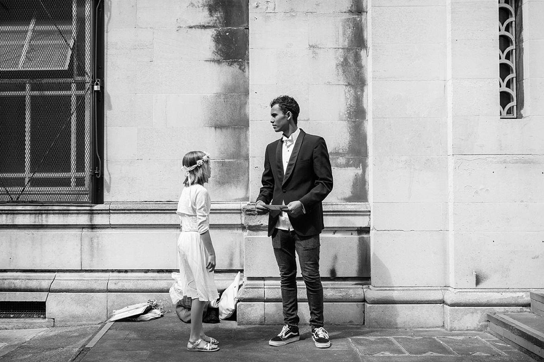 Londesborough pub wedding photography flower girl