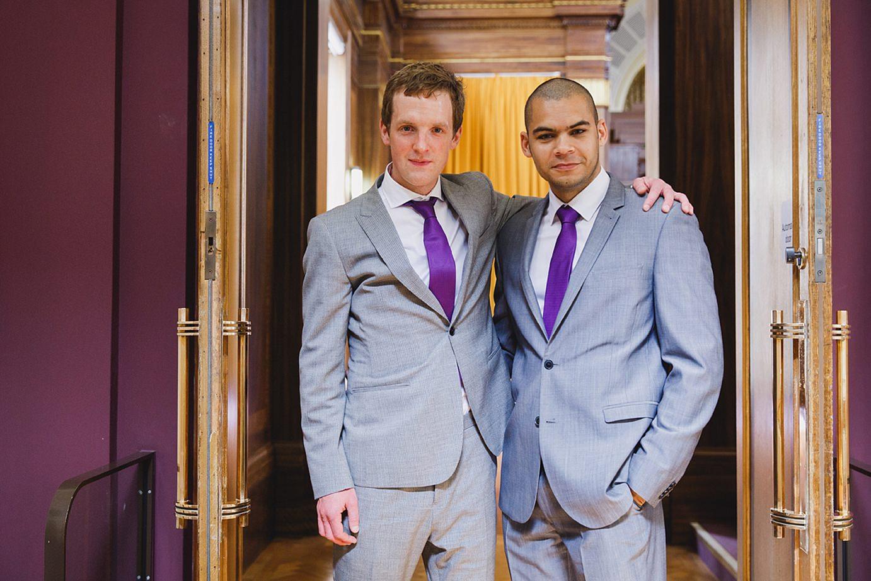 Londesborough pub wedding photography groomsmen