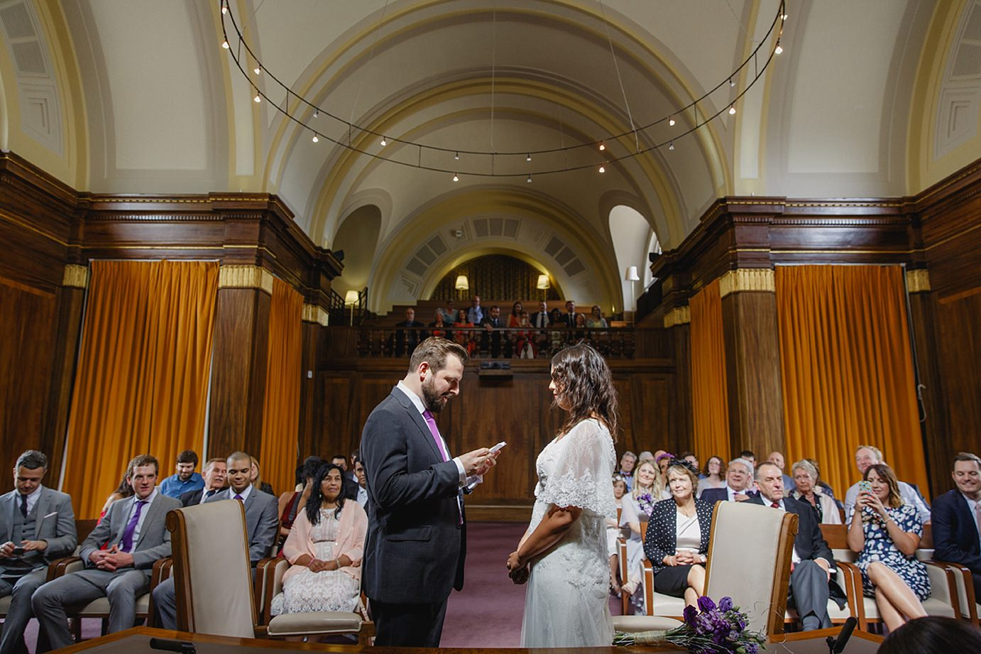 Londesborough pub wedding photography from reading vows