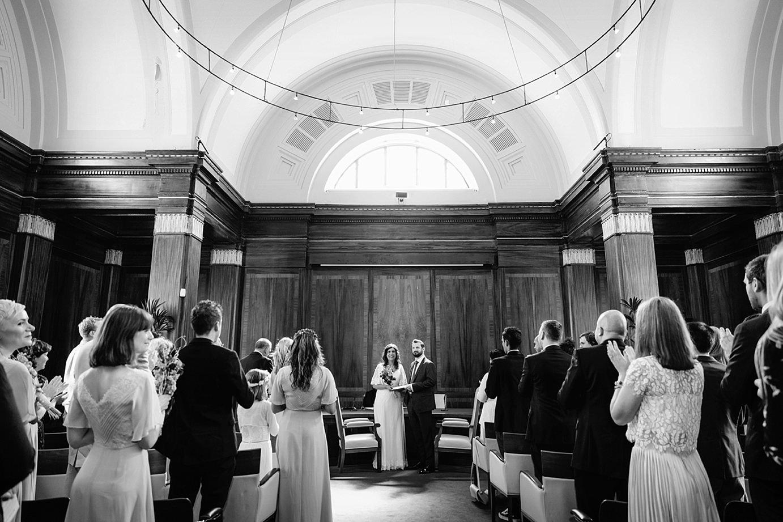 Londesborough pub wedding photography bride and groom wedding at stoke newington town hall