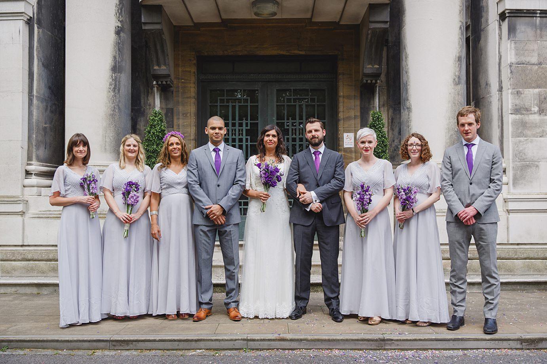 Londesborough pub wedding photography bridesmaids and groomsmen