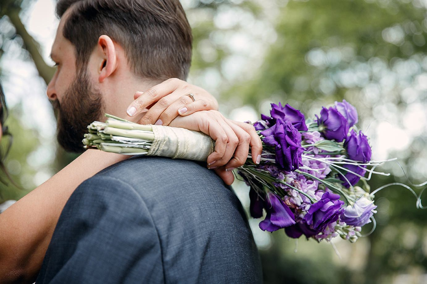 Londesborough pub wedding photography hands and bouquet