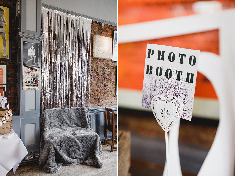 Londesborough pub wedding photography diy Photo Booth