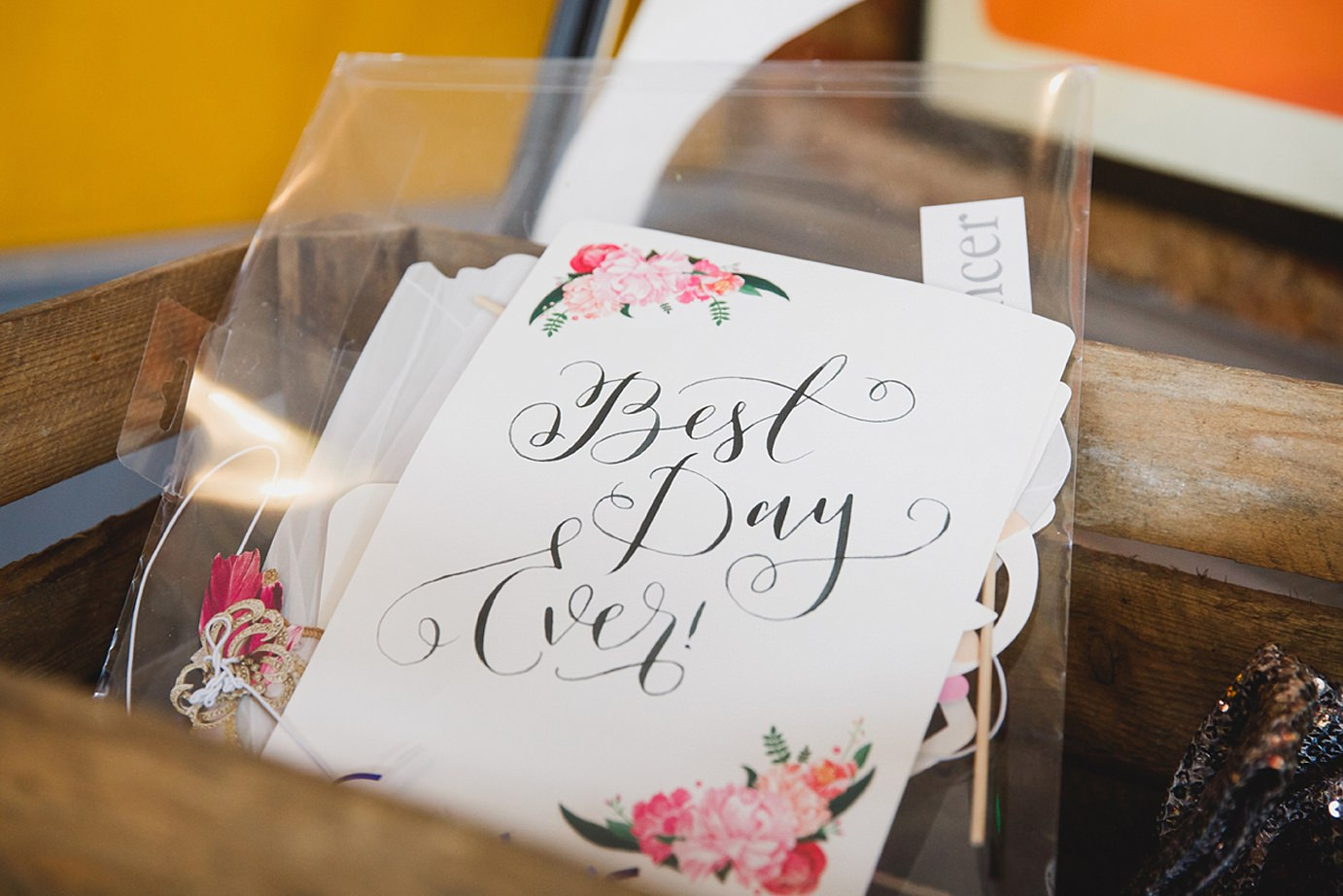 Londesborough pub wedding photography best day ever card