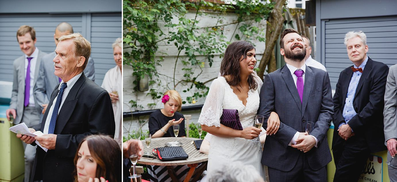 Londesborough pub wedding photography speeches