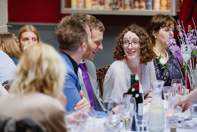 Londesborough pub wedding photography wedding guests