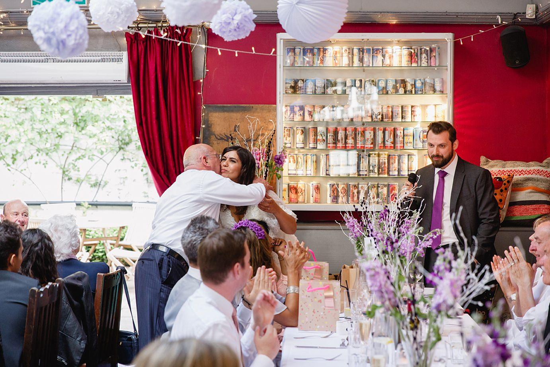 Londesborough pub wedding photography speeches hug