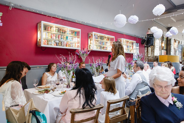 Londesborough pub wedding photography bridesmaid speech