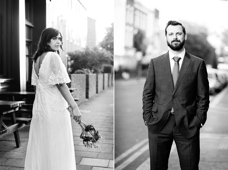 Londesborough pub wedding photography portrait of groom