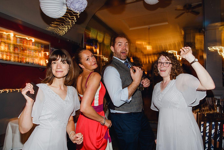 Londesborough pub wedding photography guests dancing