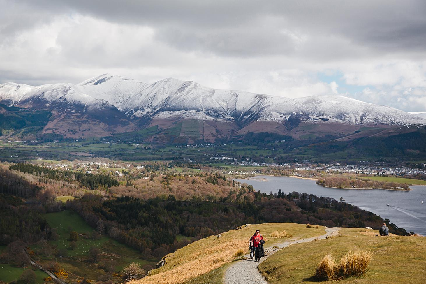 lake district travel photography view on catcalls