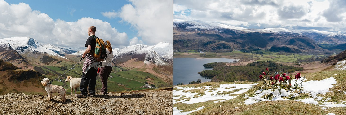 lake district travel photography catbells summit