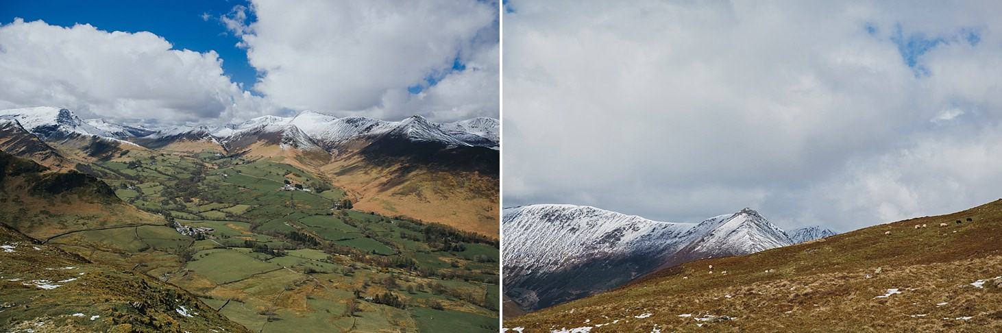 lake district travel photography country view