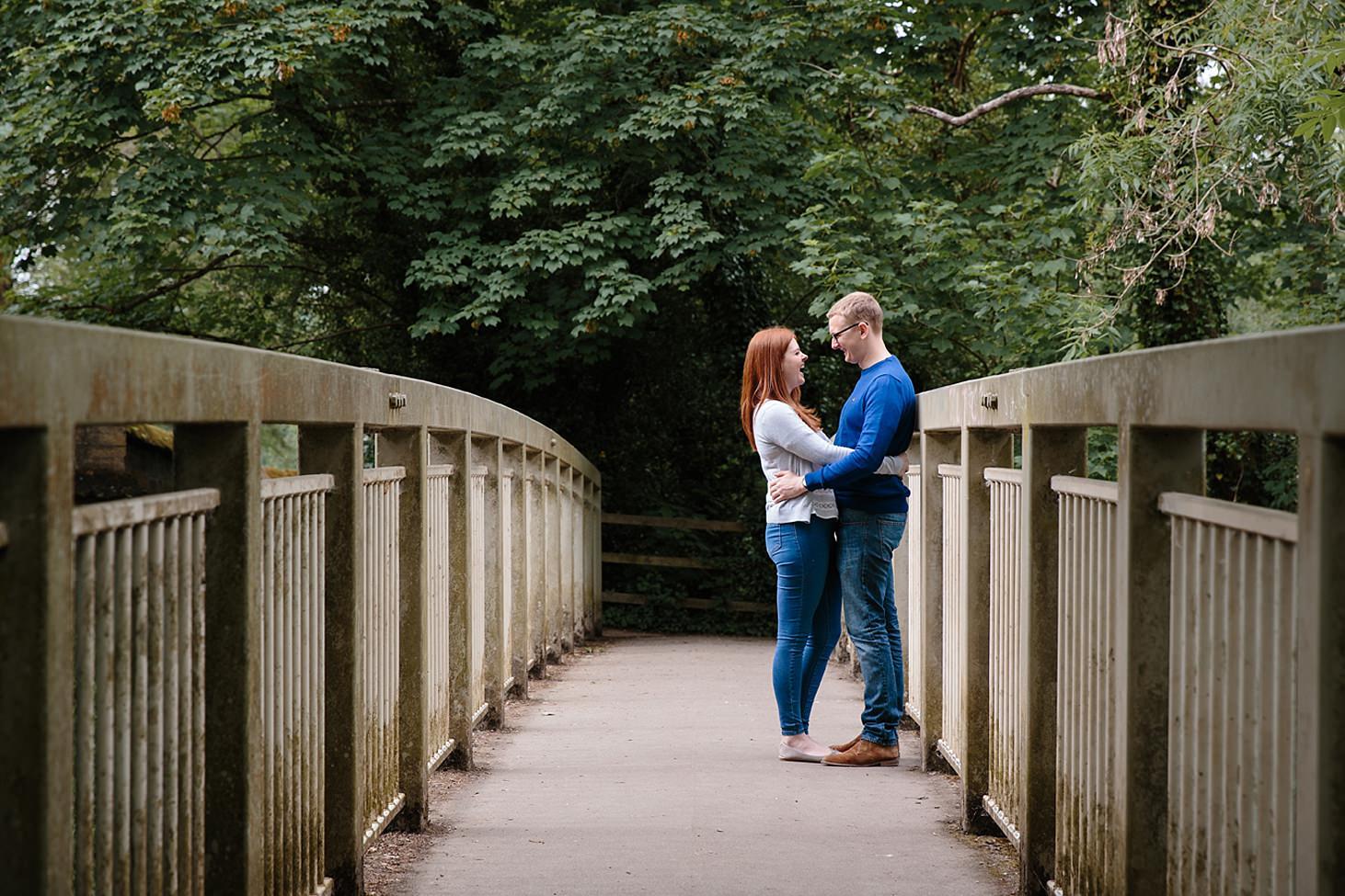 arundel engagement shoot bridge