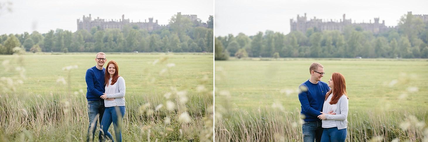 arundel engagement shoot castle