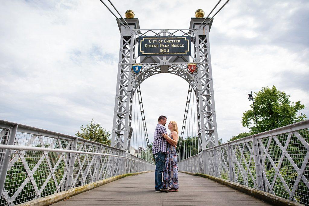 Chester engagement shoot – Liz & Steve
