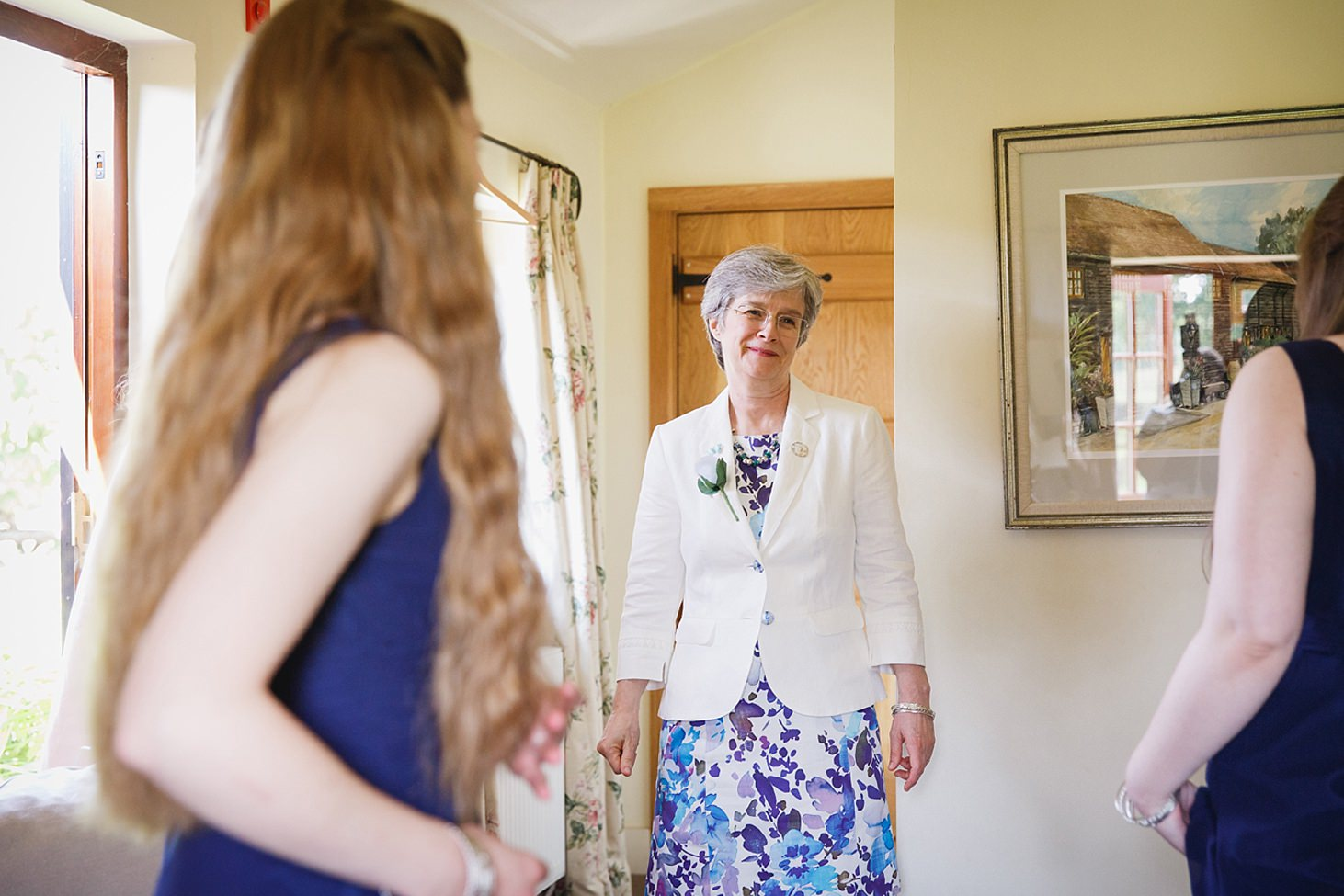 gate street barn wedding photography mother of the bride