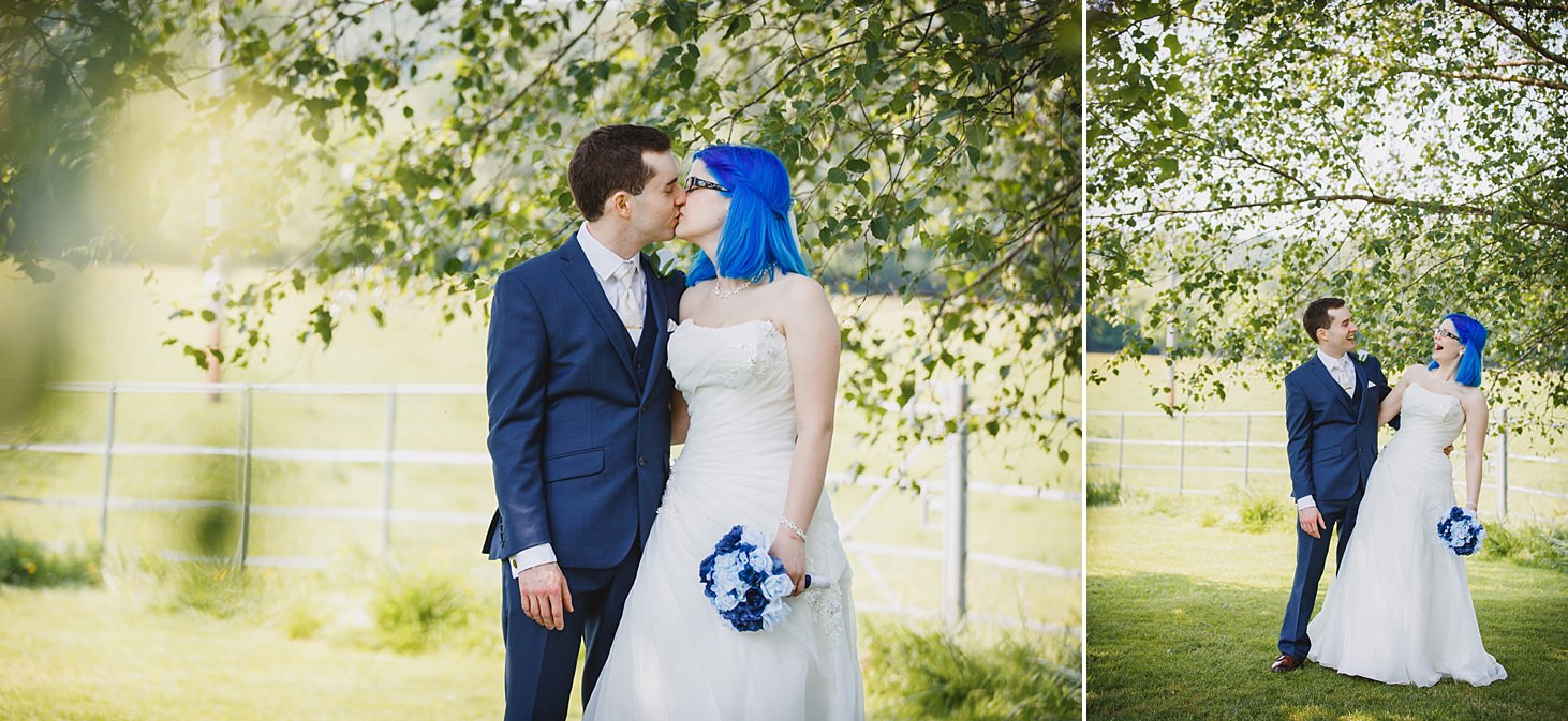 gate street barn wedding photography bride and groom portrait