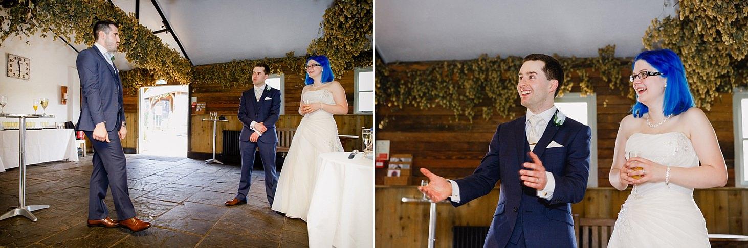gate street barn wedding photography best man speech