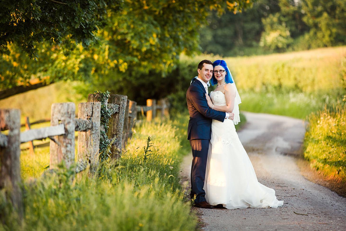 gate street barn wedding photography bride and groom portrait by gates