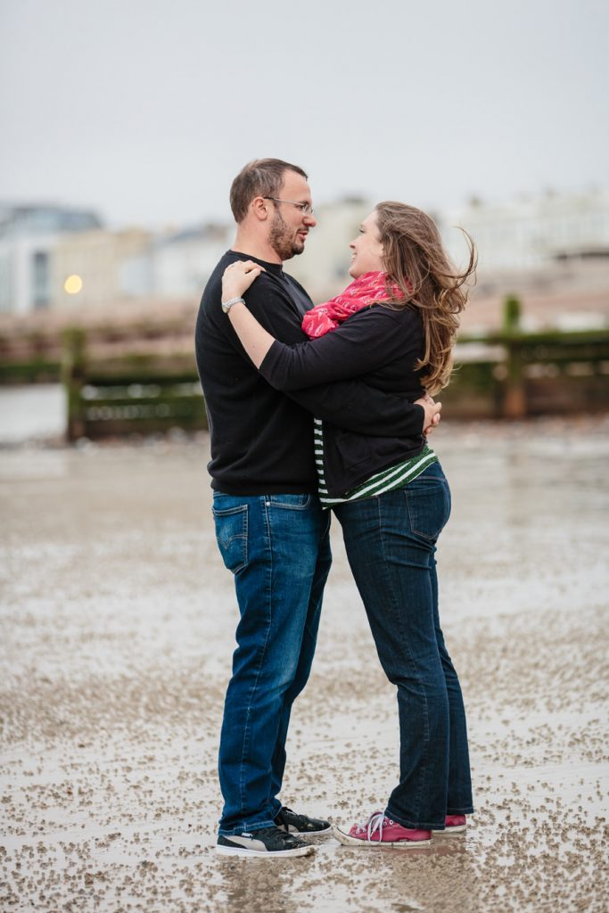 Worthing engagement shoot – Louise and Chris