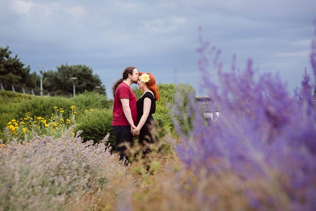 Thames barrier park engagement shoot – Kat & Liam