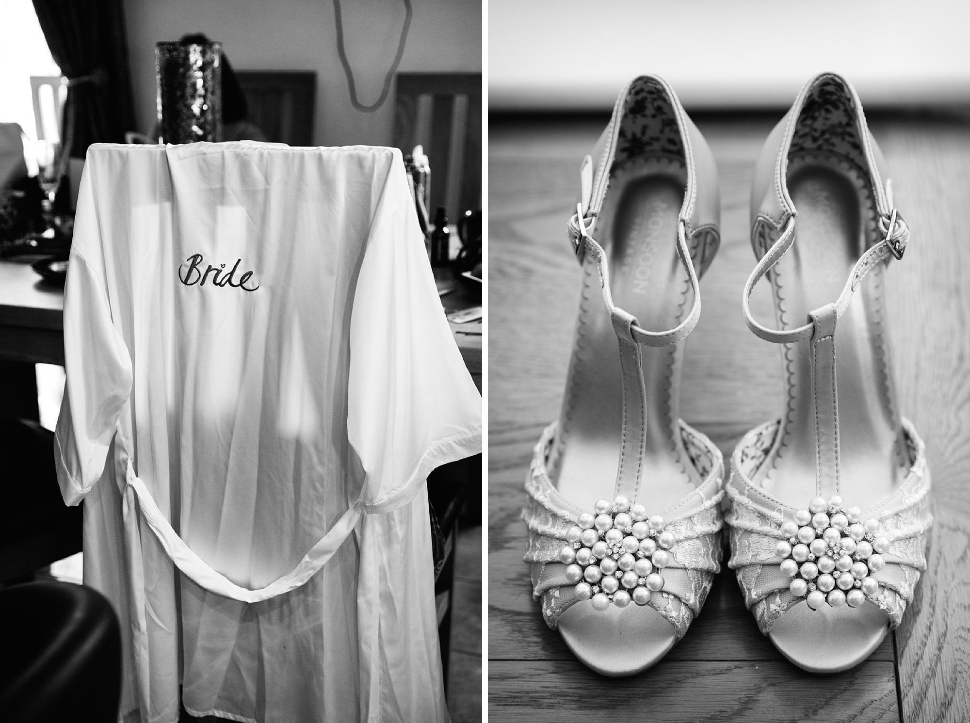 Bignor Park wedding photography shoes and gown