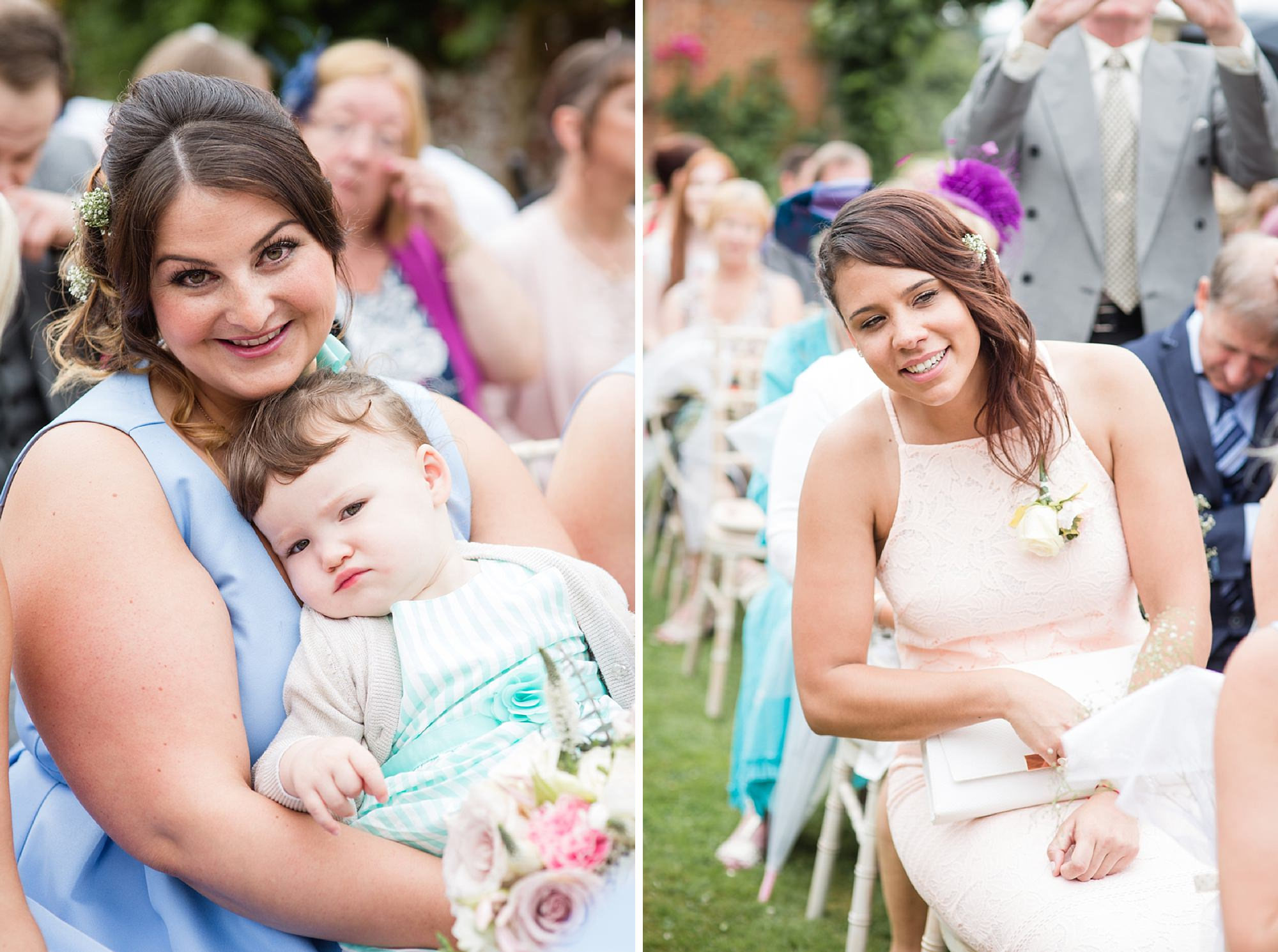 Bignor Park wedding photography wedding guests