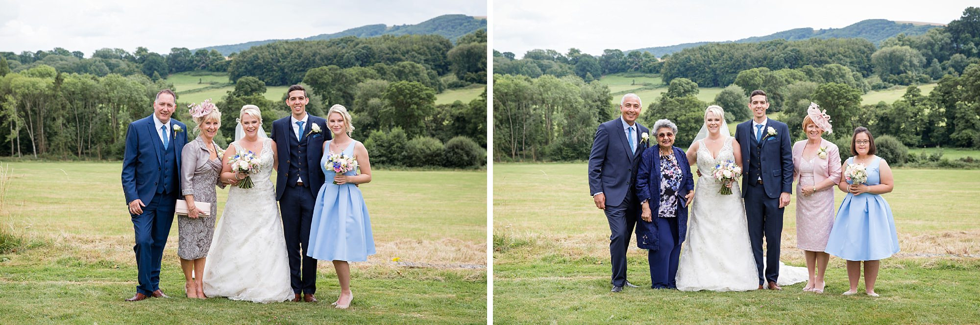 Bignor Park wedding photography family photos