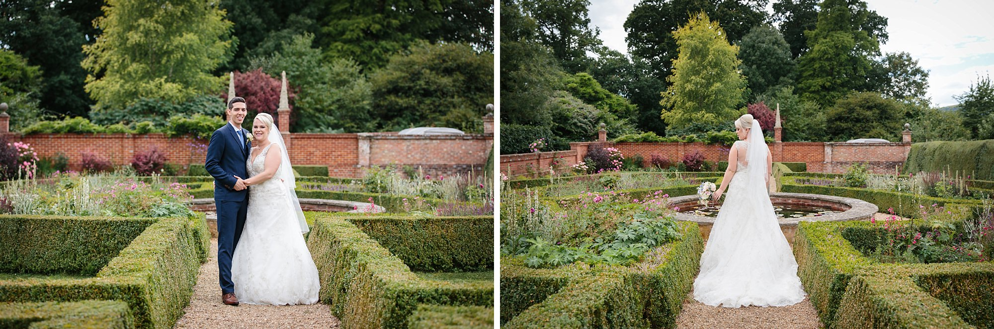 Bignor Park wedding photography garden portraits